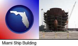 a ship building project at a Polish shipyard in Miami, FL